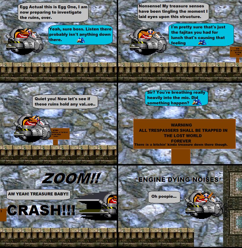 Sonic Misadventure: Treasure Hunt by VGFanatic23