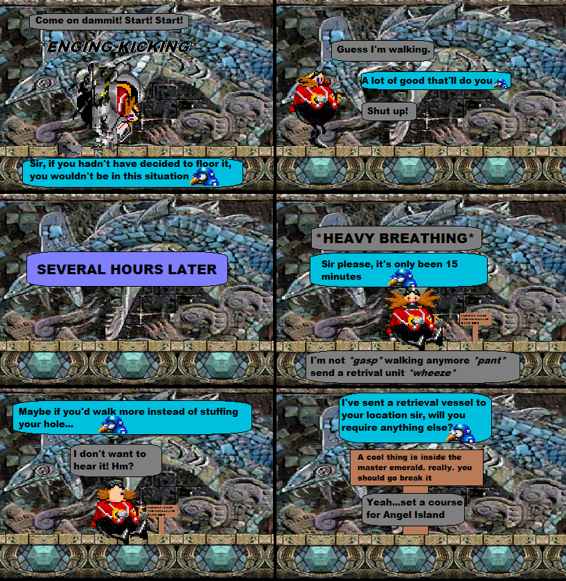 Sonic Misadventure: Cave by VGFanatic23