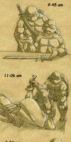 TMNT-rest well by tmask01