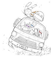 TMNT-Crazy Ride by tmask01