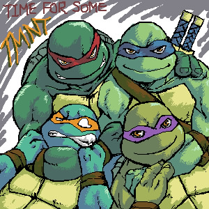 TMNT- time for some TMNT by tmask01