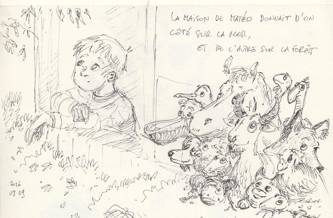 La maison de Mateo by Sylvainhibou
