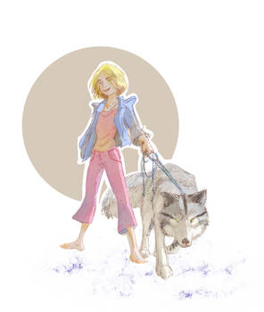 with wolf