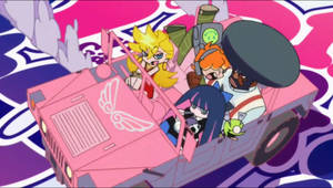 Panty and Stocking Wallpaper