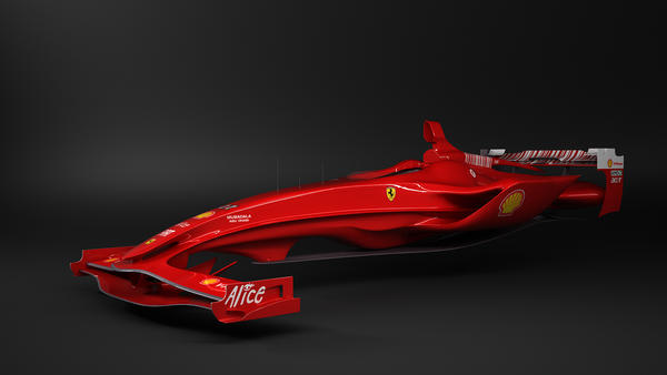 future ferrari by csicso3d