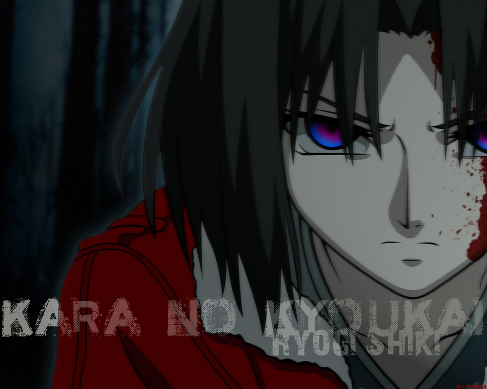 The garden of sinners by lierownya on deviantart - Kara no kyoukai the garden of sinners ...