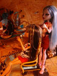 Ghoulia the hairstylist II by autumnrose83