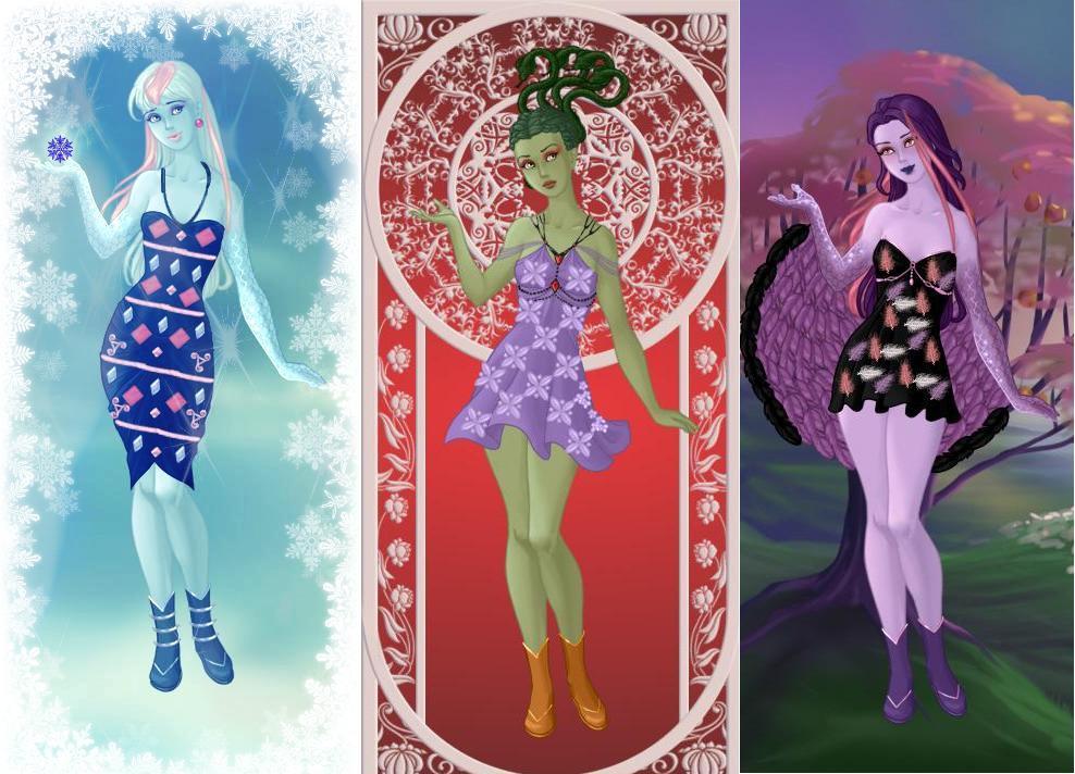 Mh Cam Ice Girl Gorgon Harpy By Autumnrose83 On Deviantart