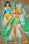 X-Girl-De Nile Sisters by autumnrose83