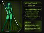 X-Girl Marvel Girl Gamora