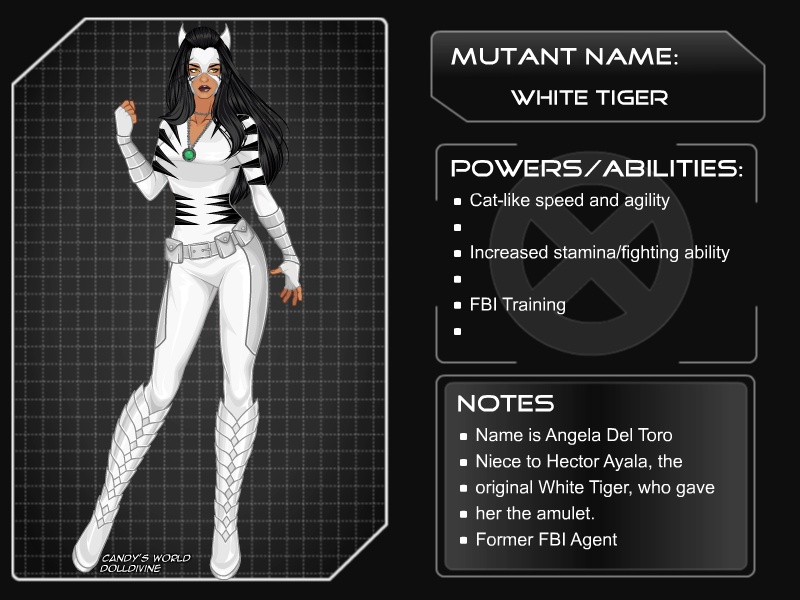 X Girl Marvel Girl White Tiger By Autumnrose83 On Deviantart