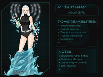 X-Girl - DC Girls Aquagirl by autumnrose83
