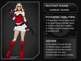 X-Girl - DC Girls Harley Quinn by autumnrose83
