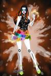 X-Girl-Skelita Calaveras