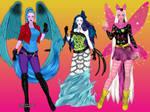 X-Girl-Monster High Hybrids