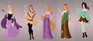 Animated Ladies - Hidden Princesses by autumnrose83
