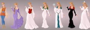 Odette Wardrobe In Goddess Scene