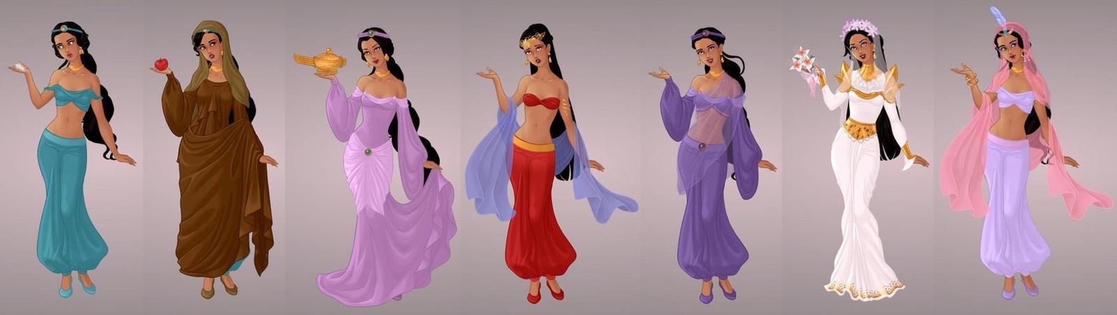 Jasmine Wardrobe in Goddess Scene by autumnrose83