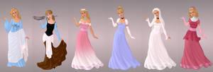 Cinderella Wardrobe in Goddess Scene