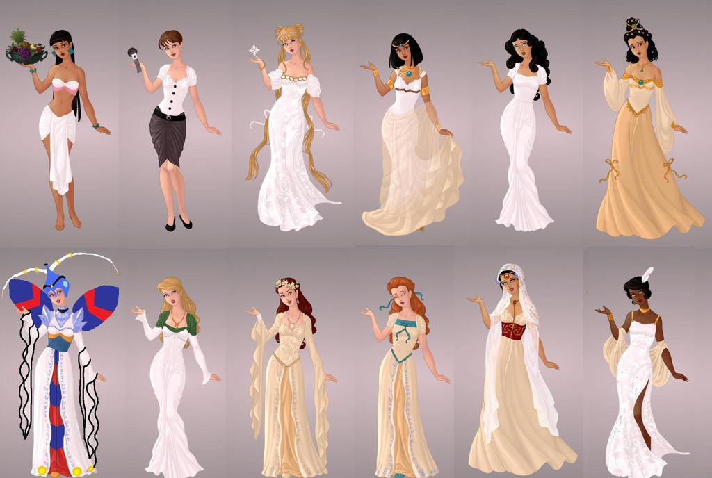 Animated Ladies In Ivory By Autumnrose83 On Deviantart