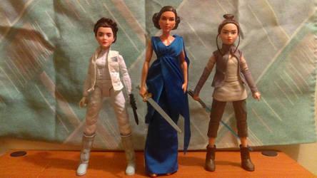 Warrior Women Dolls