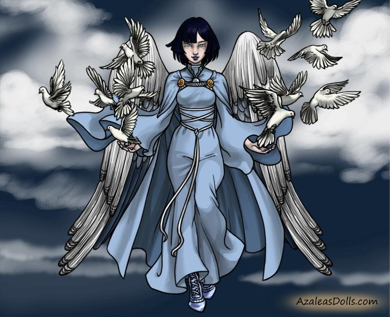 Epic Angel-Neopet-Taelia