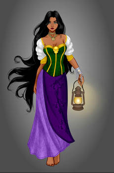 dark-mage Esmeralda