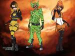 Waivera - Miraculous Teammates by autumnrose83