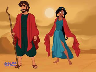 Arabian - Tzipporah x Moses by autumnrose83