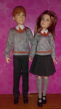 Weasley kids by autumnrose83