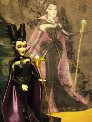 Maleficent Doll + Shirt by autumnrose83