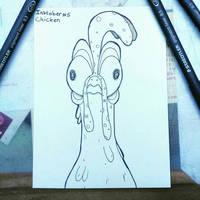 Inktober #5 : chicken