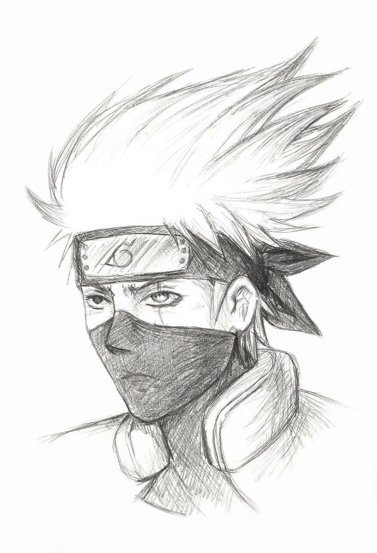 kakashi sketches - 737×1083