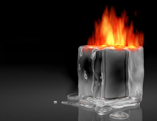 Image result for ice on fire