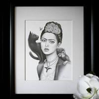 Fan Art - Frida Kahlo by little-lina