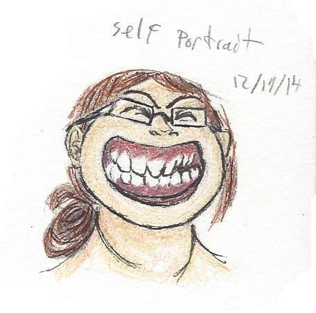 Self Portrait by plucky-ducky
