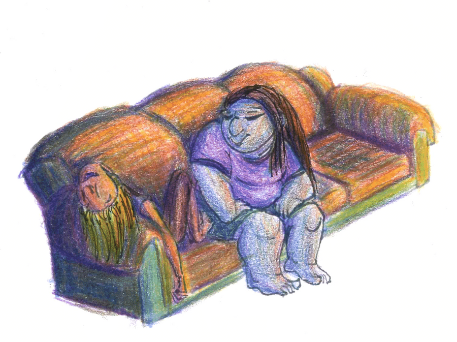 couch traditional coloring by plucky-ducky