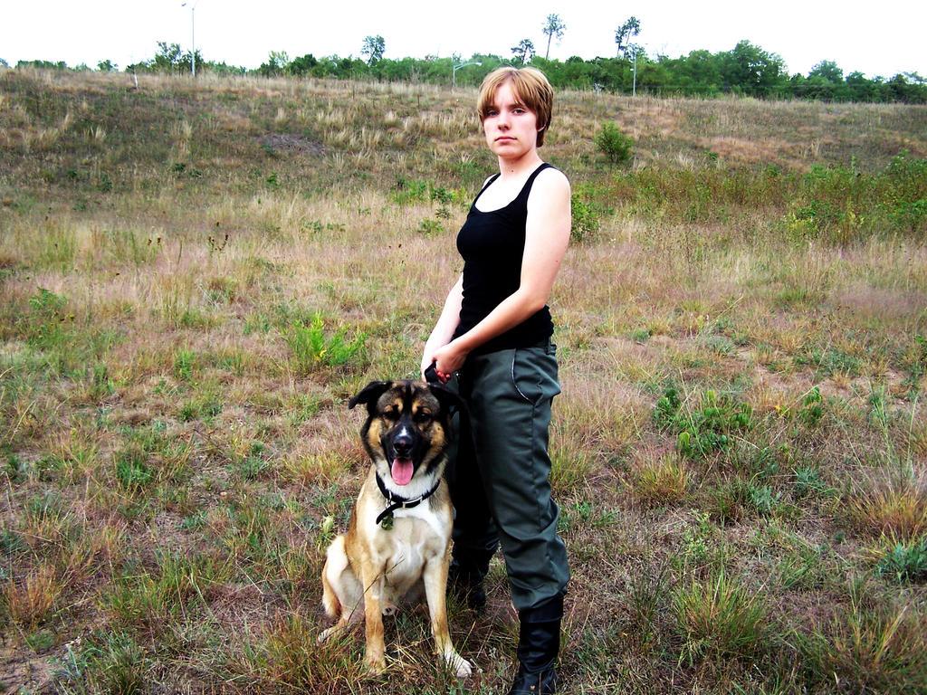 wiki Frau und Hund