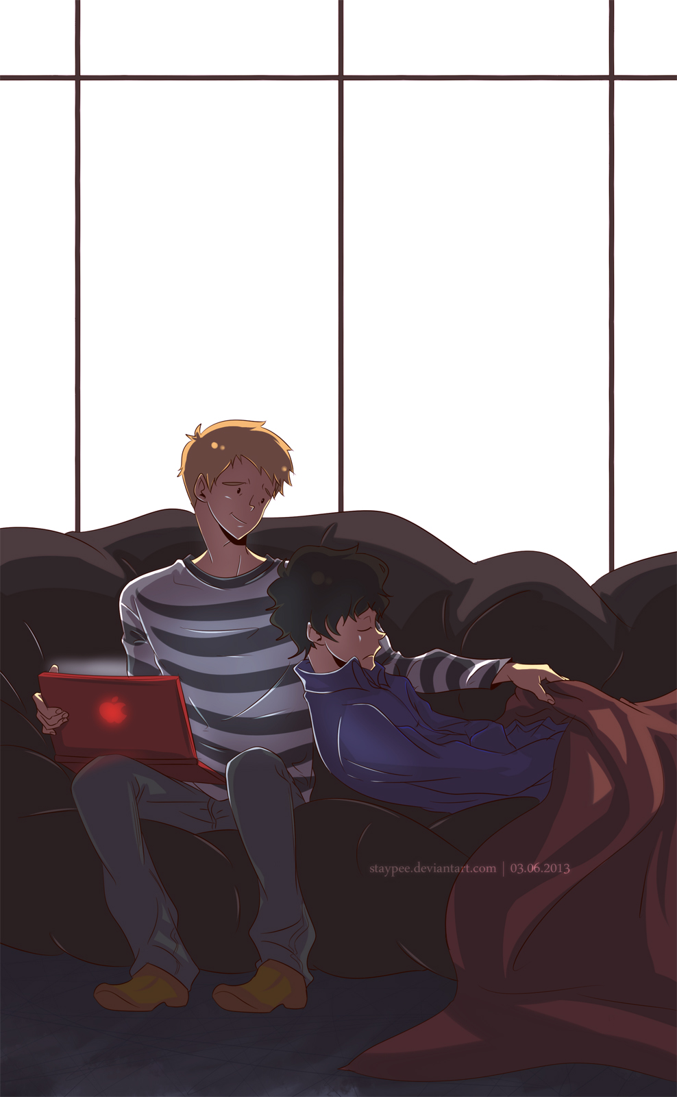 Sleep, Sherlock by staypee