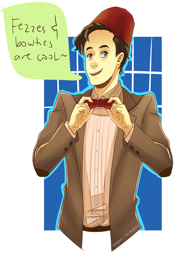 Bow Ties Are Cool Matt Smith Fezzes and bow ties are cool!