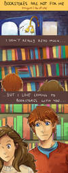 Bookstores Are Not For Me by staypee