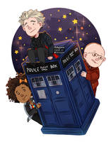 To the TARDIS! by staypee