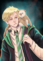 Draco and a ferret by staypee