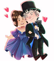 The Queen and the Doctor by staypee