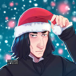 Snape is forever not just for Christmas by staypee