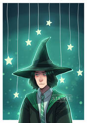 Snape and Stars by staypee