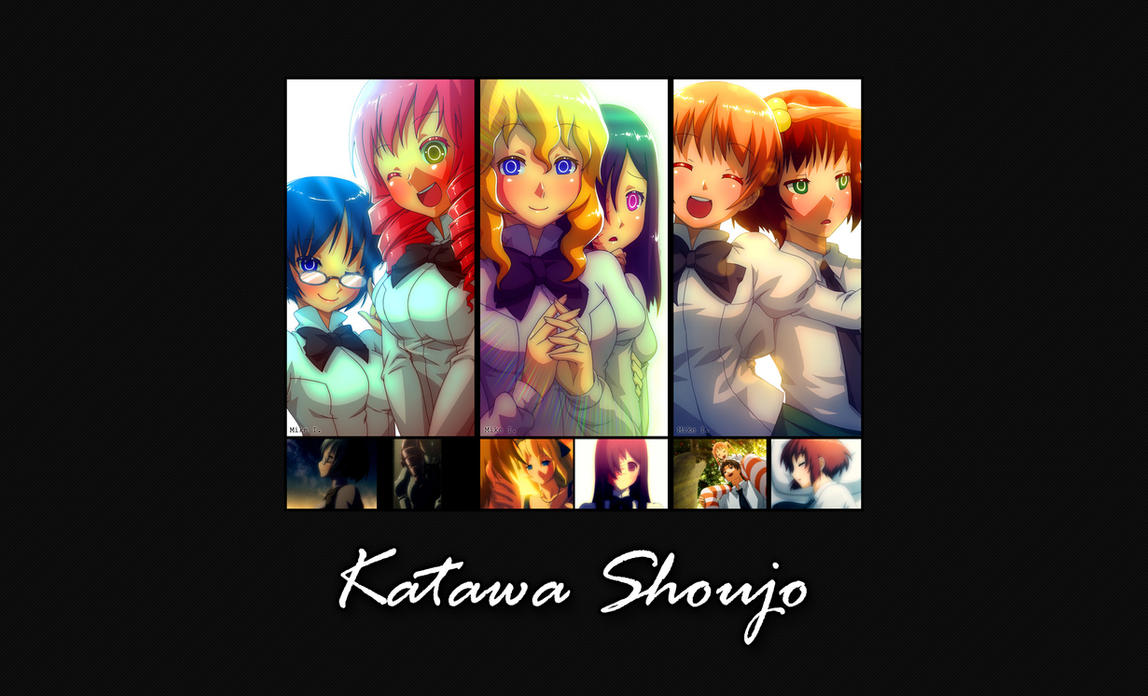 katawa shoujo wallpaper by daemongo on deviantart