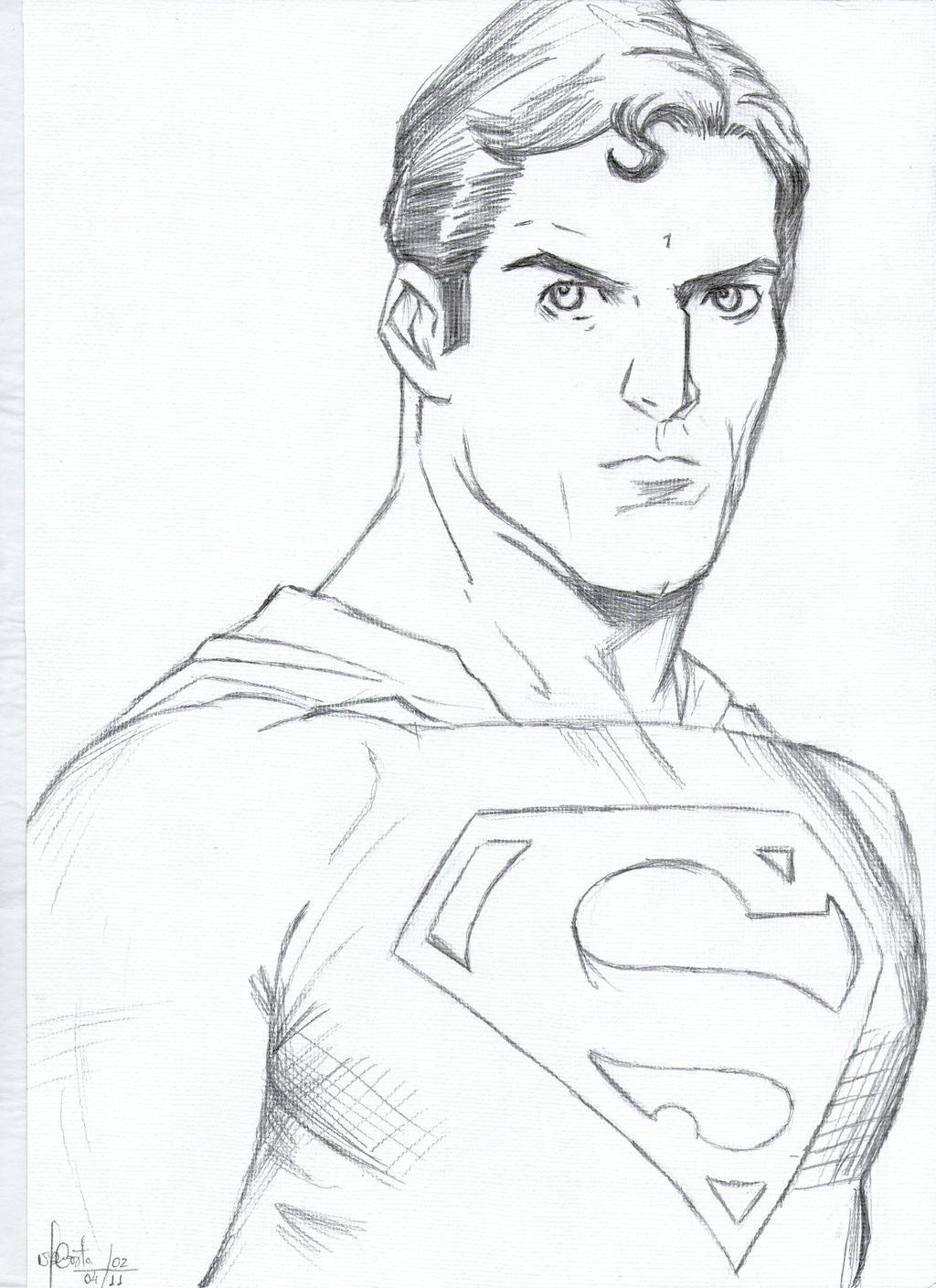 easy superman drawings - photo #15