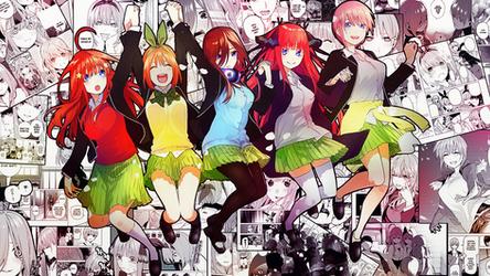 Go Toubun No Hanayome Wallpaper Hermanas Nakano by PiBeTrAiDoR