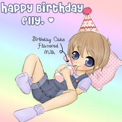 Happy Birthday Elliot